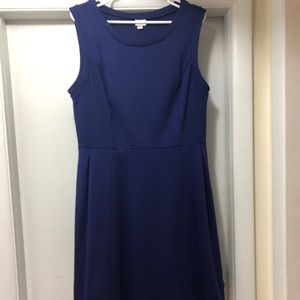 Purple Sleeveless Dress - XL